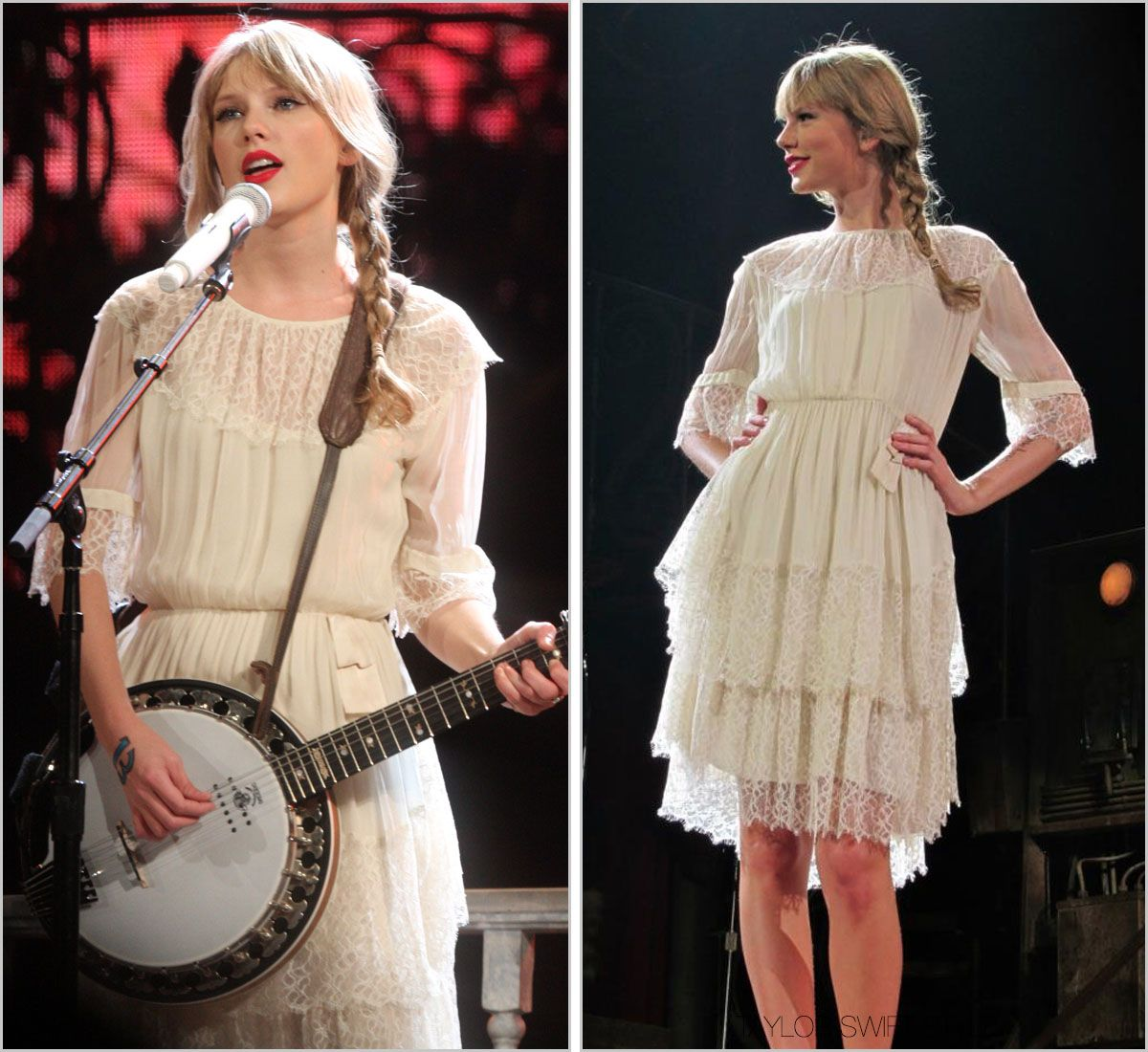 Taylor Swift Speak Now Tour - Our Song and Mean (mit ...