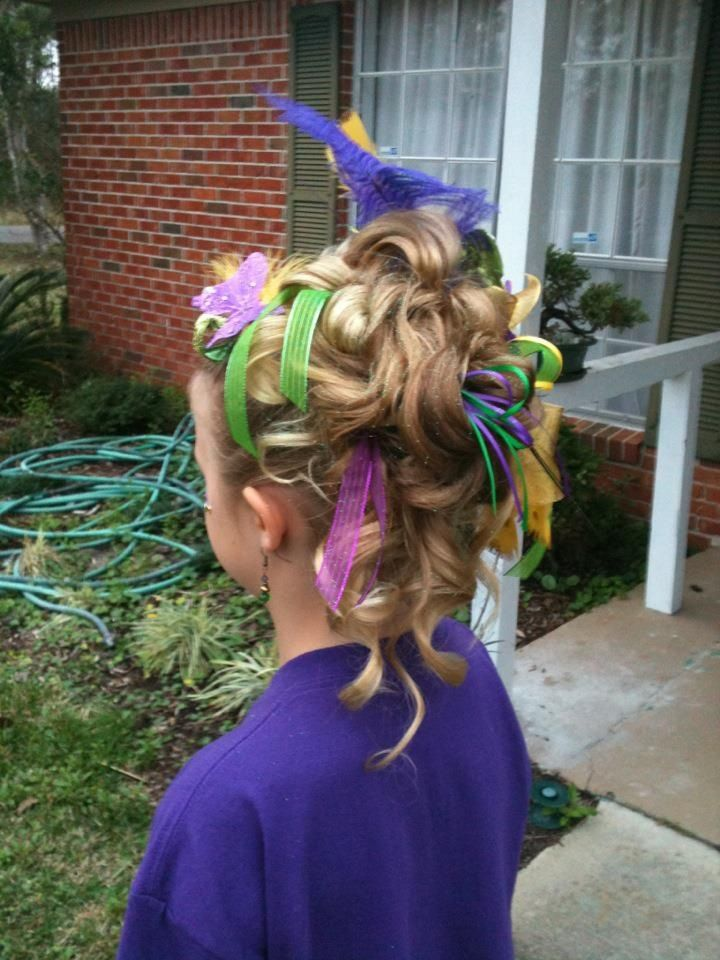 Mardi Gras Updo Hair Styles We Have Done Mardi Gras Hair