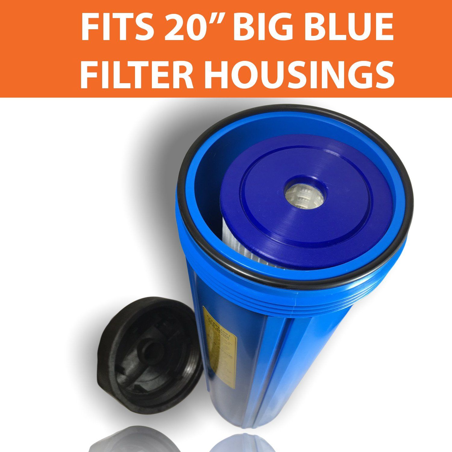 1pack Of 1 Micron Big Blue 20 X 4 5 Pleated Washable Sediment Water Filter Cartridge By Aquaboon Click On T Water Filter Water Filter Cartridge Blue Filter