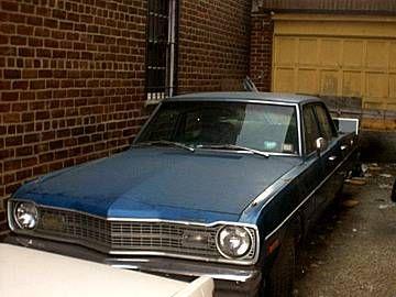 1974 Dodge Dart - Anne's Whiplash Car - 318 Cu IN.