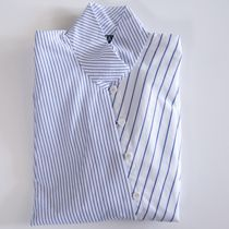 Points shirt in two stripes. $595.