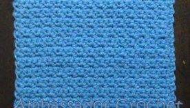 Grit Stitch Dishcloth v.1 Free Crochet Pattern