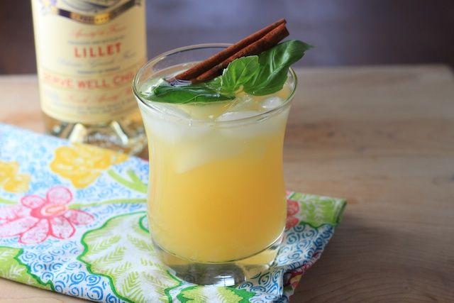 bookcooker: Cocktail Hour: Lillet Basil Cocktail