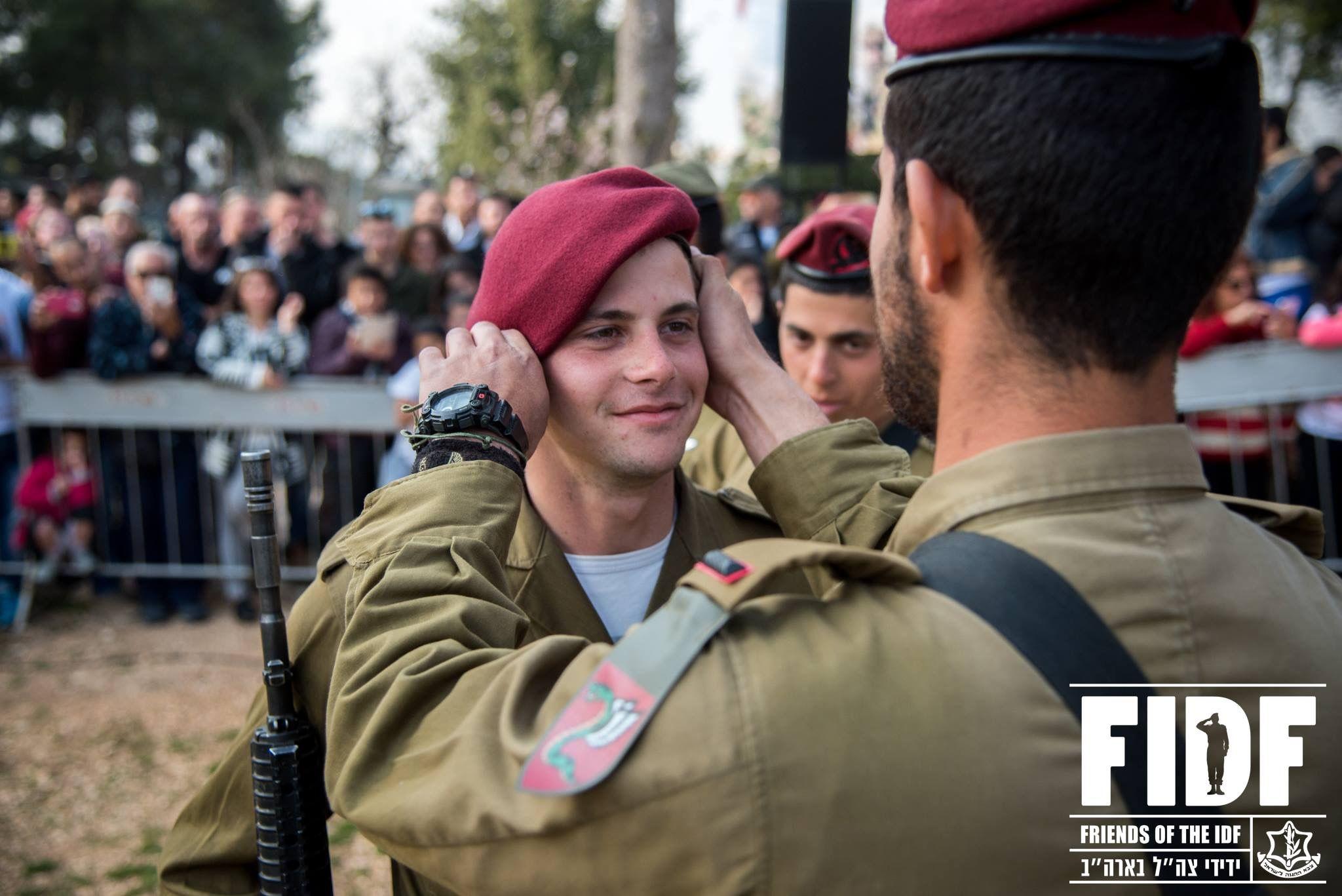 IDF ISRAELI PARATROOPERS BRIGADE HOODIE