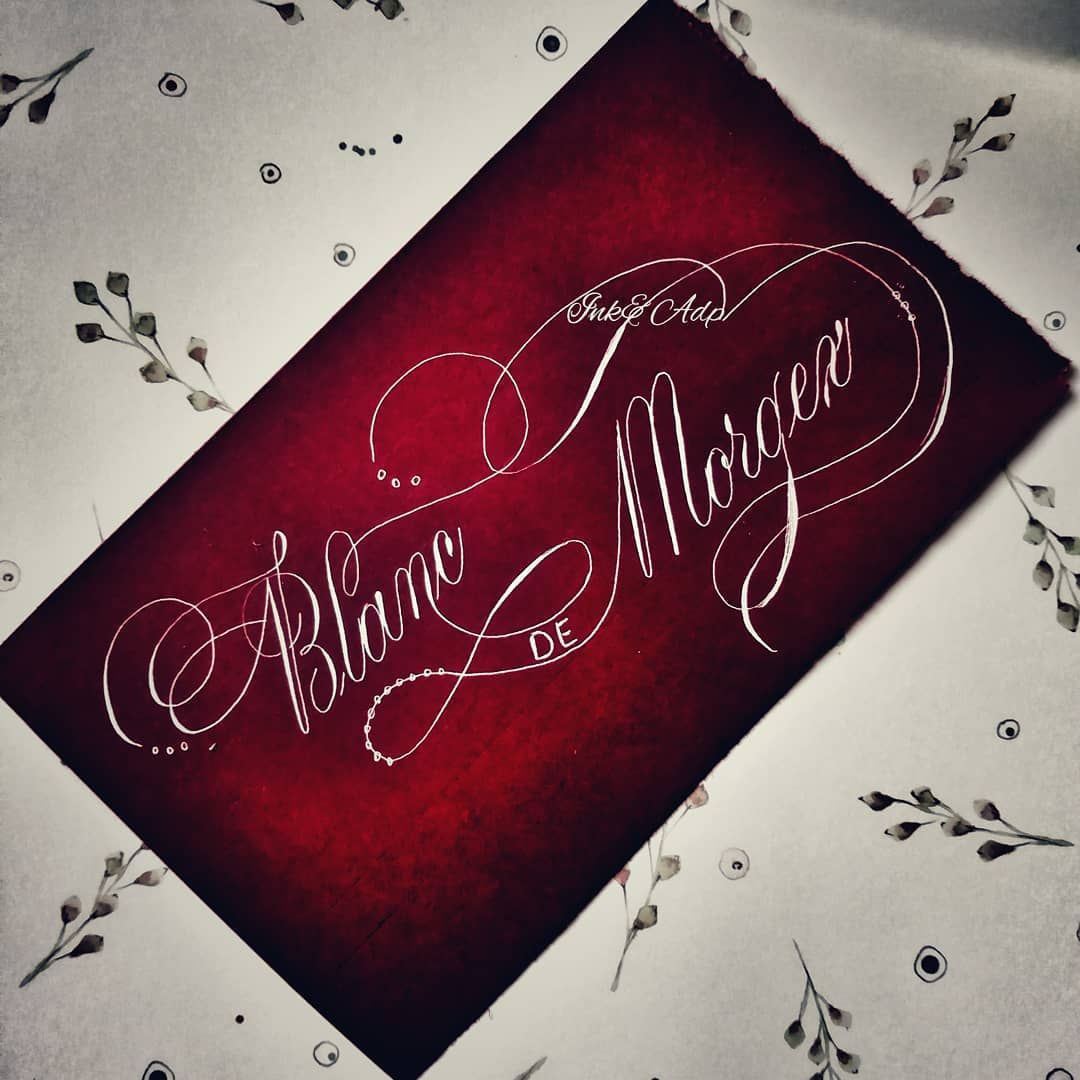 Partecipazioni Matrimonio Novara.Calligraphy Copperplate Goodtype Design Matrimonio Wedding