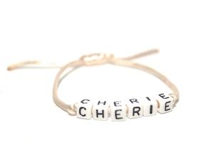 FRENCH WORDS bracelet CHERIE