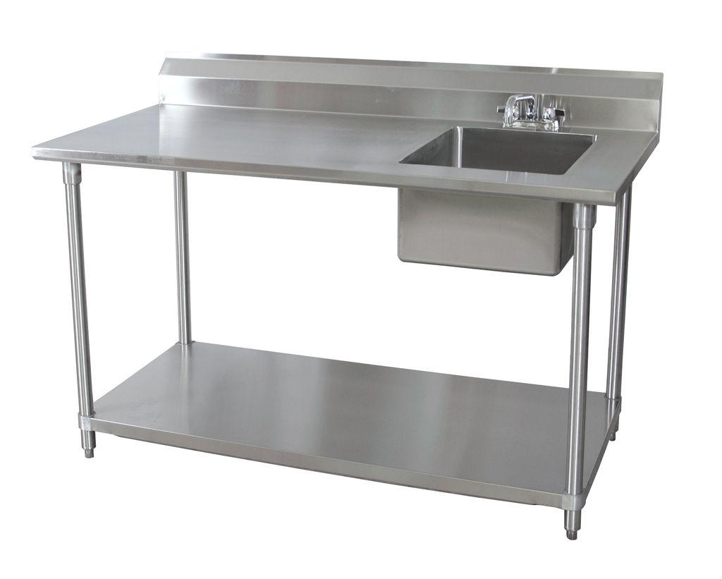 bk resources bkpt 3060g r p g 60 wx30 d stainless steel prep table w rh pinterest com