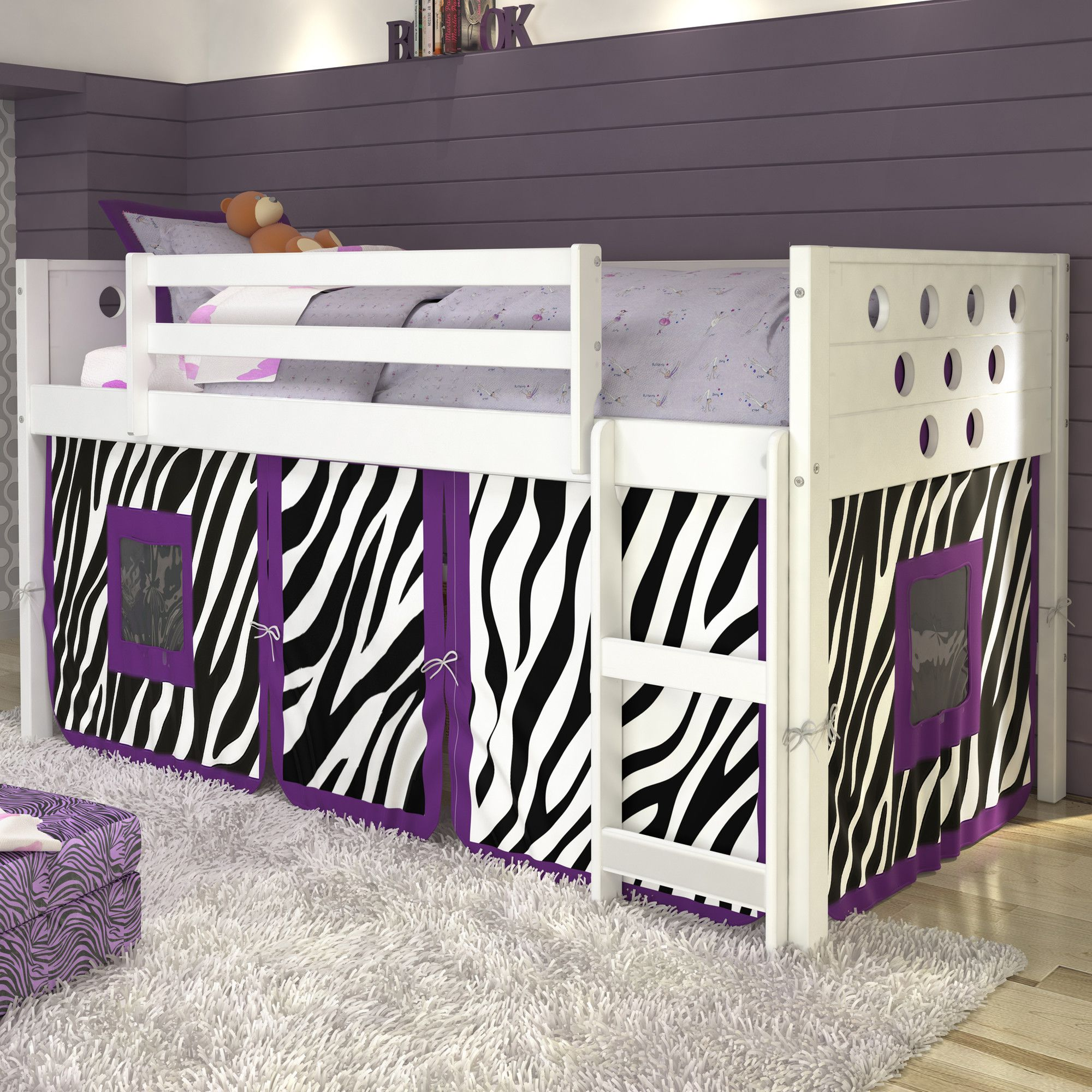 Low loft bed twin  Catherine Circles Twin Loft Bed  Lofts Twins and Bunk bed