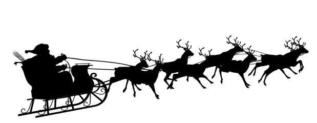weihnachtsschlitten rentiere malen  tier malen