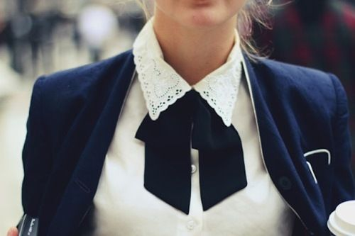 bow blouse – ​collar bow blouse prim girly-visit www.willemijnsofashion.com for more inspiration