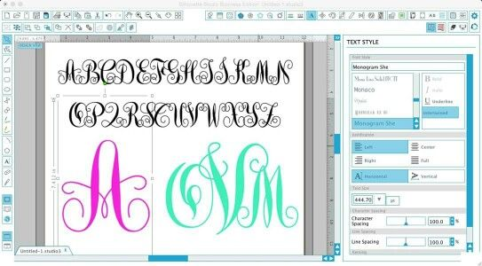 I've been on a font kick lately...and in my hunt for a perfect commercial use swirly monogram font, I came across this gem!  http://www.silhouetteschoolblog.com/2016/08/commercial-use-monogram-font-for.html