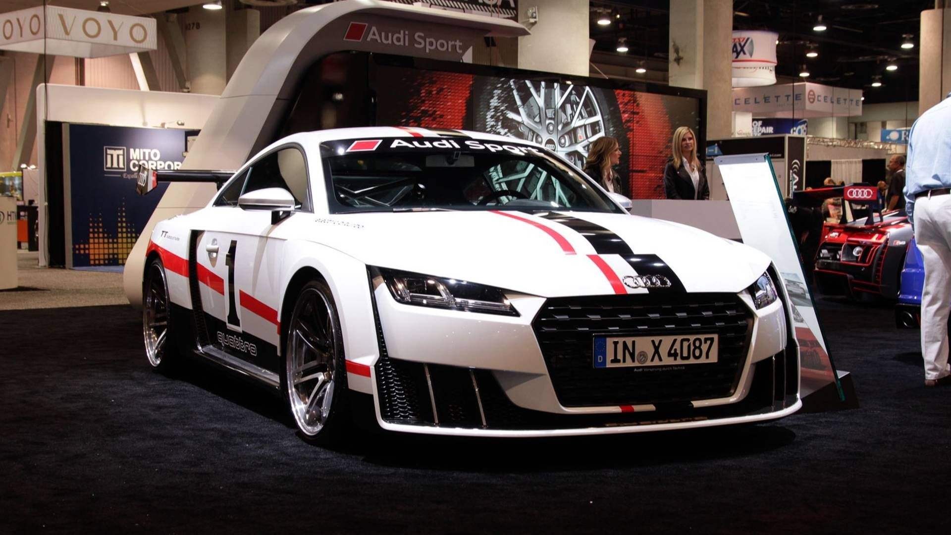 Audi Tt Clubsport Concept Races Into Sema With 600 Hp Dreamcars
