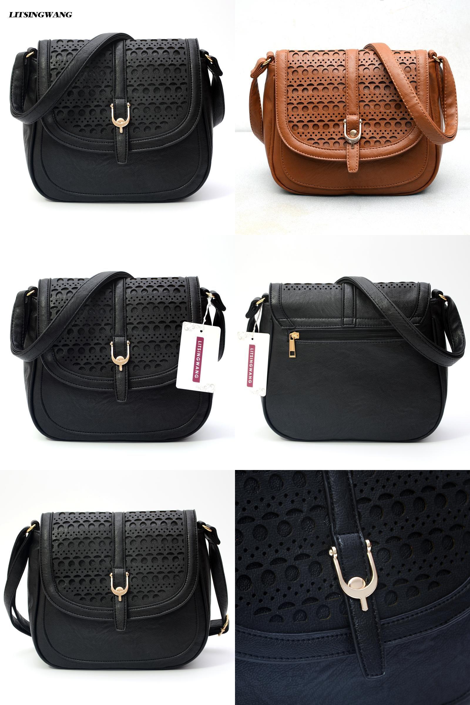 643807b31b  Visit to Buy  LITSINGWANG new crossbody bags for women hollow out pu  shoulder handbags