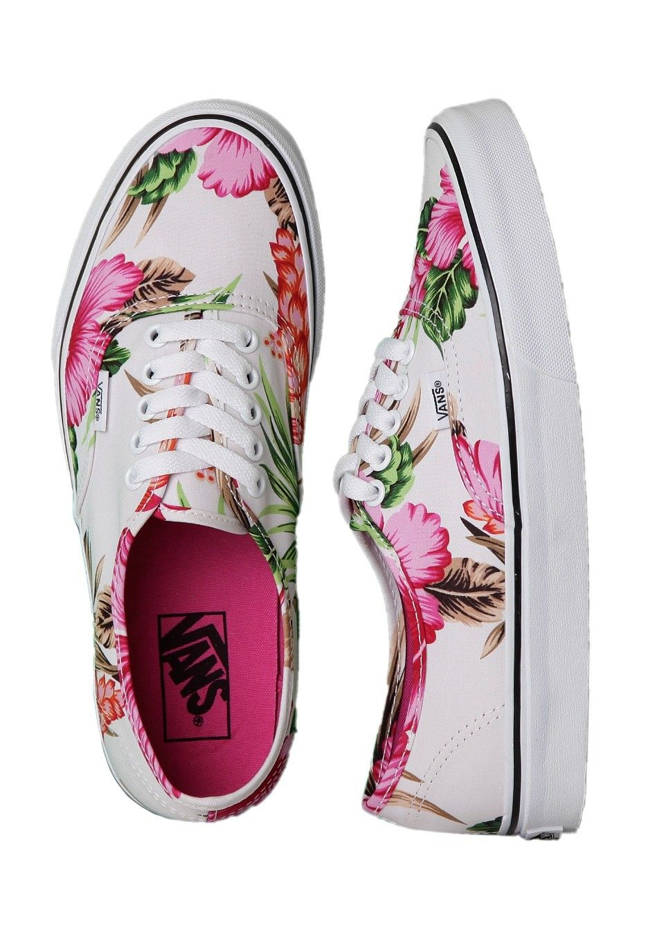 97b7918a7f Vans - Authentic Hawaiian Floral White - Girl Shoes - Official Merchandise  Online Shop - Impericon.com Worldwide