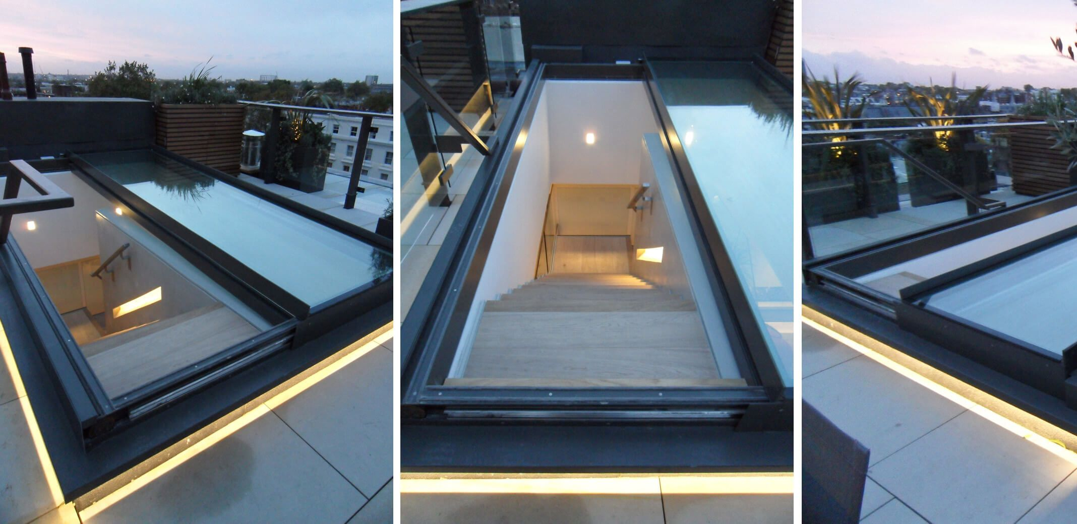 Opening Sliding Roof Cantifix Glass Roof Glass Roof Panels