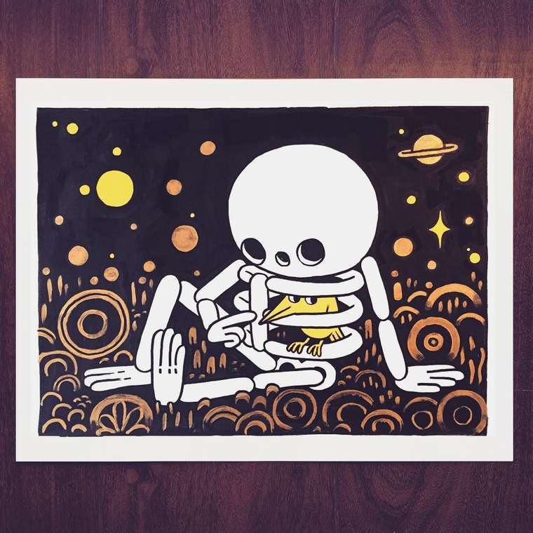 Liven Your Walls Paintings Tierra Este: The Adorable Black And White