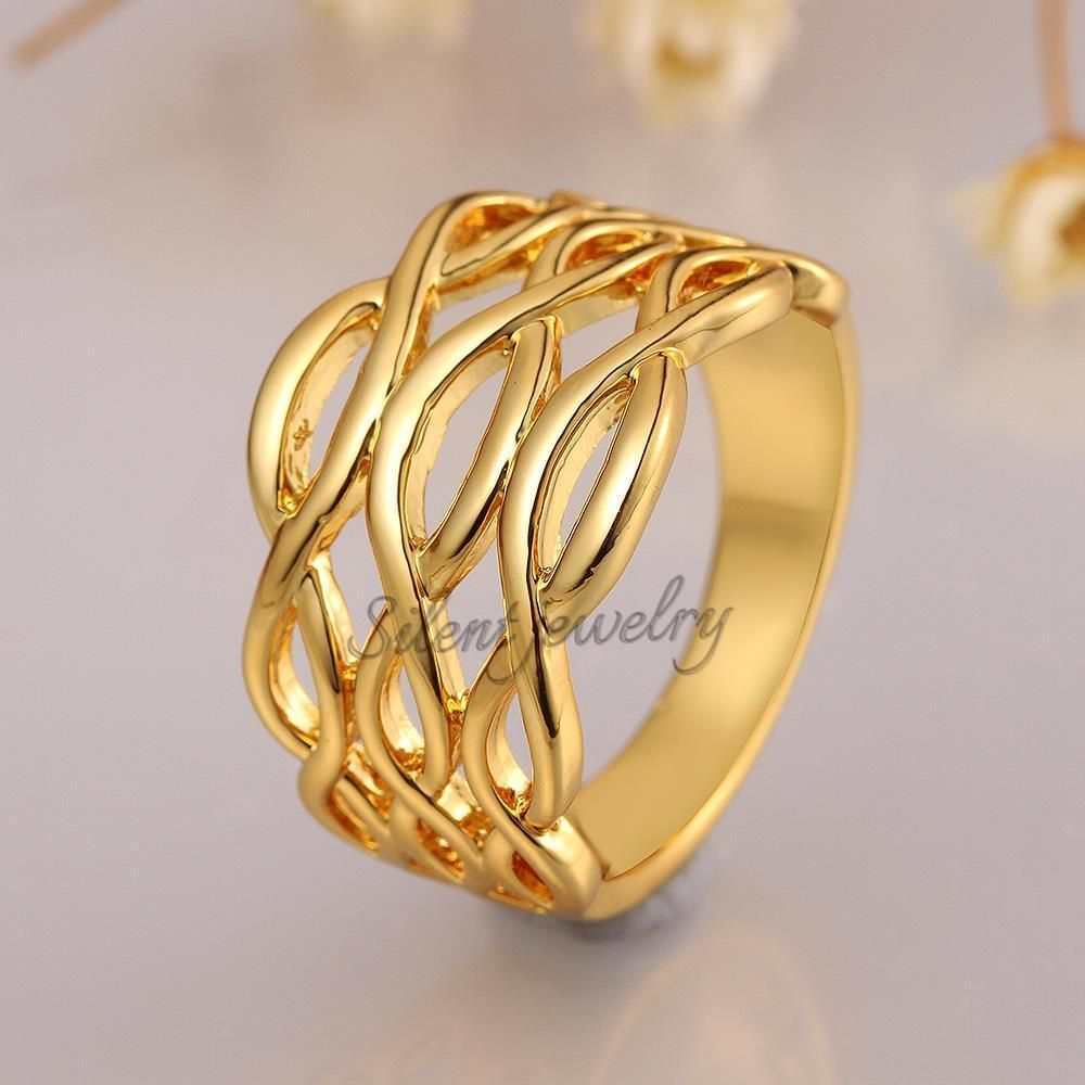 Simple Gold Ring Design For Female Without Stone Gold Ring Designs Simple Ring Design Gold Rings Simple