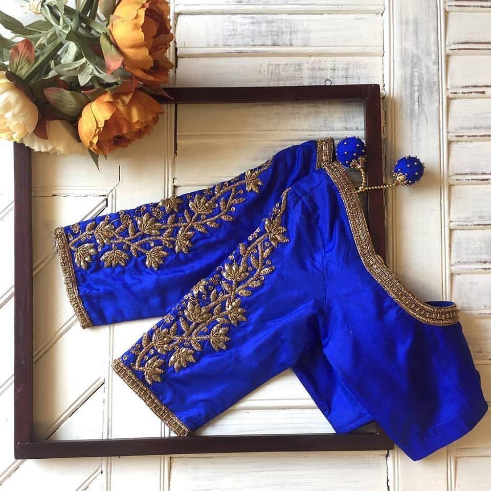 Modern Half Saree Blouse Neck Designs Valoblogi Com