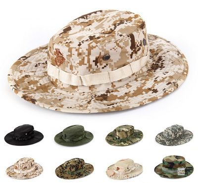 e5bc39aadf3a9 Tactical Airsoft Sniper Camouflage Boonie Hats Nepalese Cap Militares Army  Mens Accessories Hiking Tactocal Caps