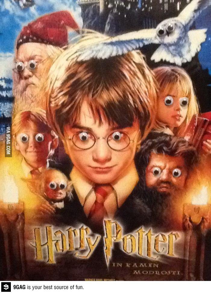Harry Potter Googly Eyes Harry Potter Images Harry Potter Memes Hilarious Harry Potter Jokes