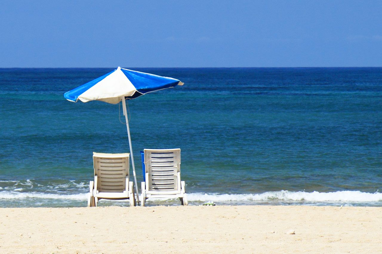 Sun Bed And Beach Beach Chair Umbrella Beach Chairs Beach Bedding