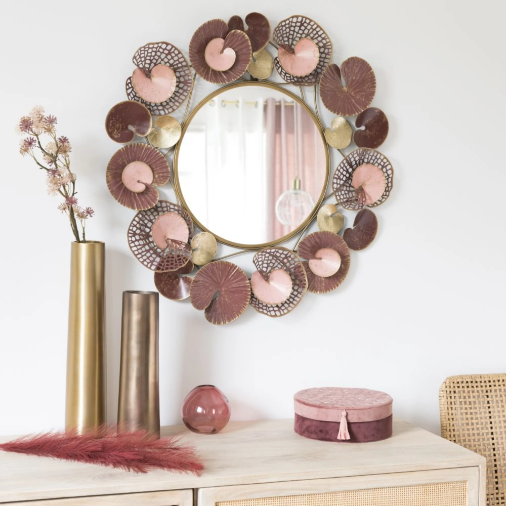 Deco Murale Avec Images Decoration Murale Miroir Miroir En Bambou Deco Murale
