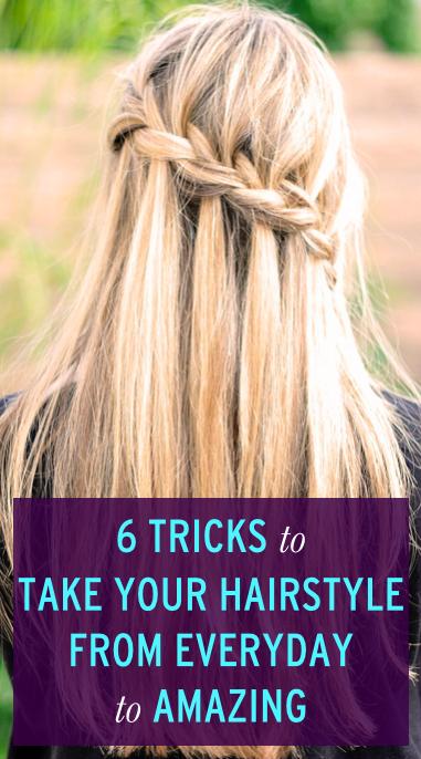 The 6 Quickest Ways To Fake Amazing Hair Hair Pinterest Trenza