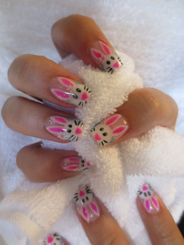 25 Adorable Easter Nail Art Ideas | Easter nail art, Easter nails ...