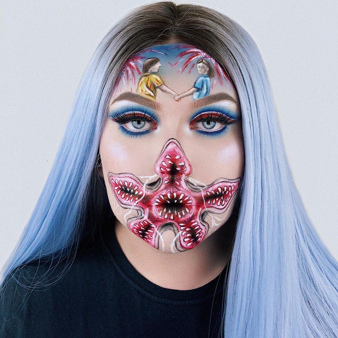 100 Amazing Halloween Makeups Amazing halloween makeup