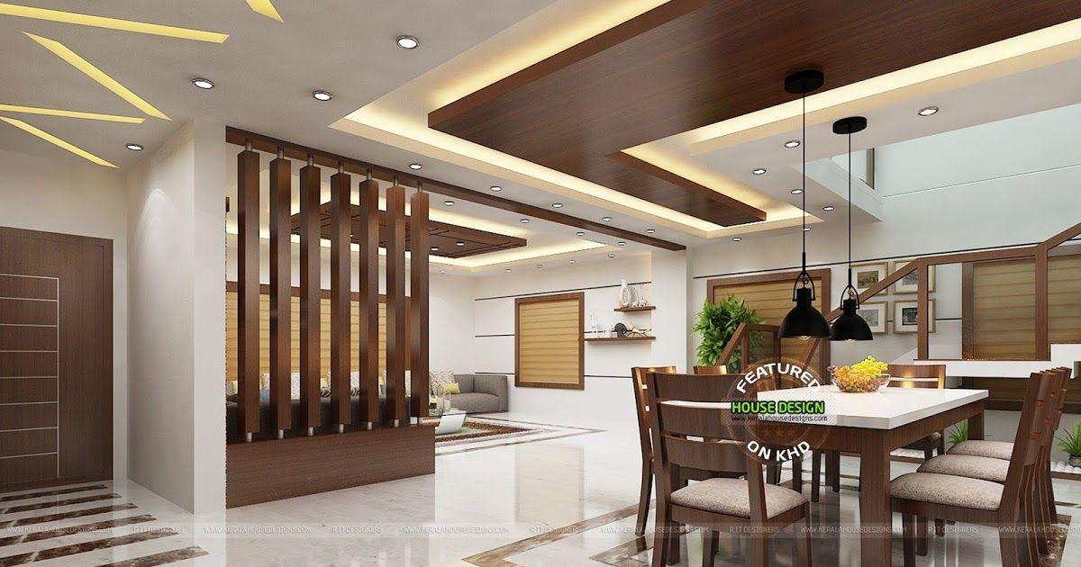 100 Best Dining Hall Interior Design In Kerala Decor Home Interior Design Ideas Modelx Kitchen Ceiling Design Interior Design Dining Room Hall Interior Design Kerala living room interior design
