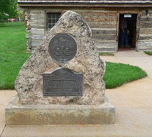The pony express station in Gothenburg, Nebraska was built in 1854 near Fort McPherson and was first used as a trading post and ranch house. It served as a pony express station from 1860-61. In 1931, the building was moved from its original site to its current location in Gothenburg's Ehmen Park. It is now operated as a museum.