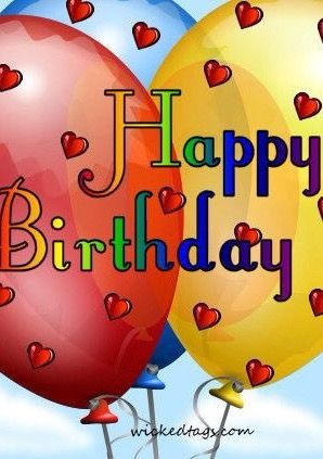 Pin By Neil And Vanessa Webber On Birthday Wishes Pinterest
