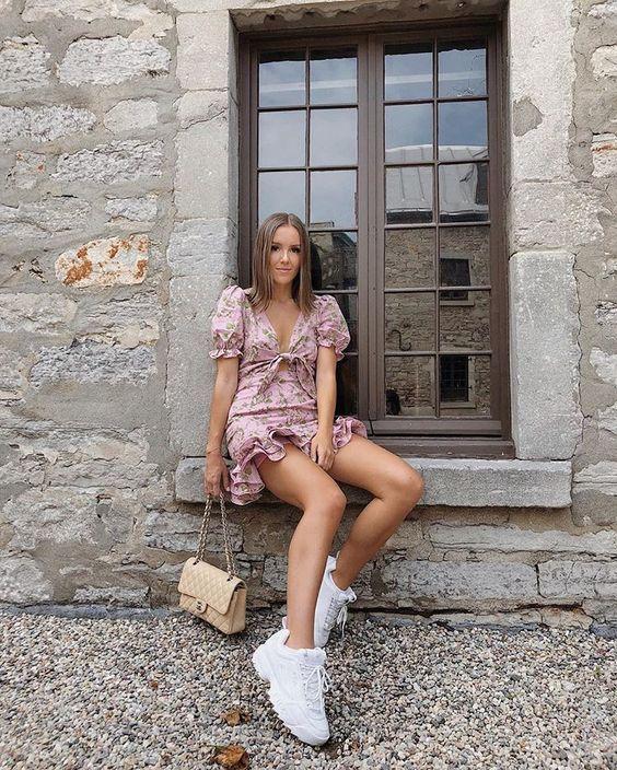 Zapatillas Fila Disruptor Outfit Disruptor Outfit Zapatillas Outfits Tenis Fila Outfit Trendy Outfits