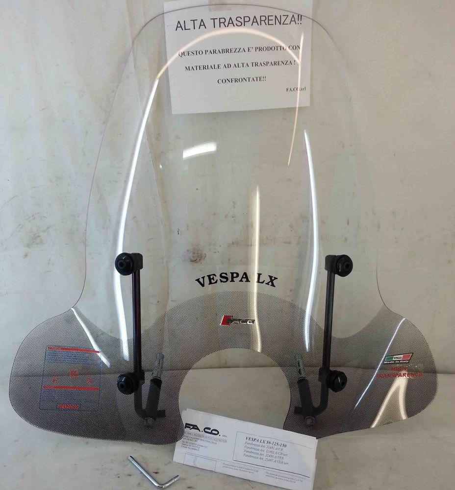 PE 125-150-200cc  twin-screen scorrevole 22816 PARABREZZA PIAGGIO VESPA PX