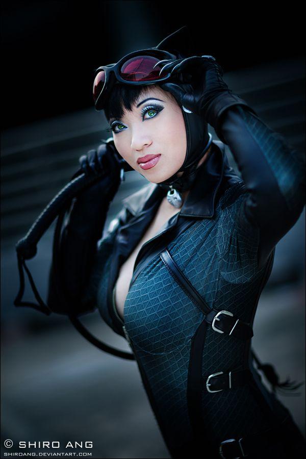 Yaya Han as Catwoman - photo by shiroang.deviantart.com