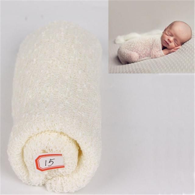 Beautiful Baby Photography Props Blanket Wraps Cotton Soft Newborn Photo Wraps Hammock Baby Bedding Blanket & Swaddling