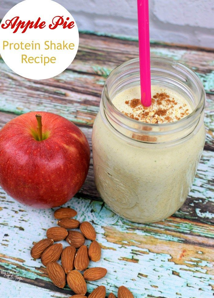 protein shake and apple diet