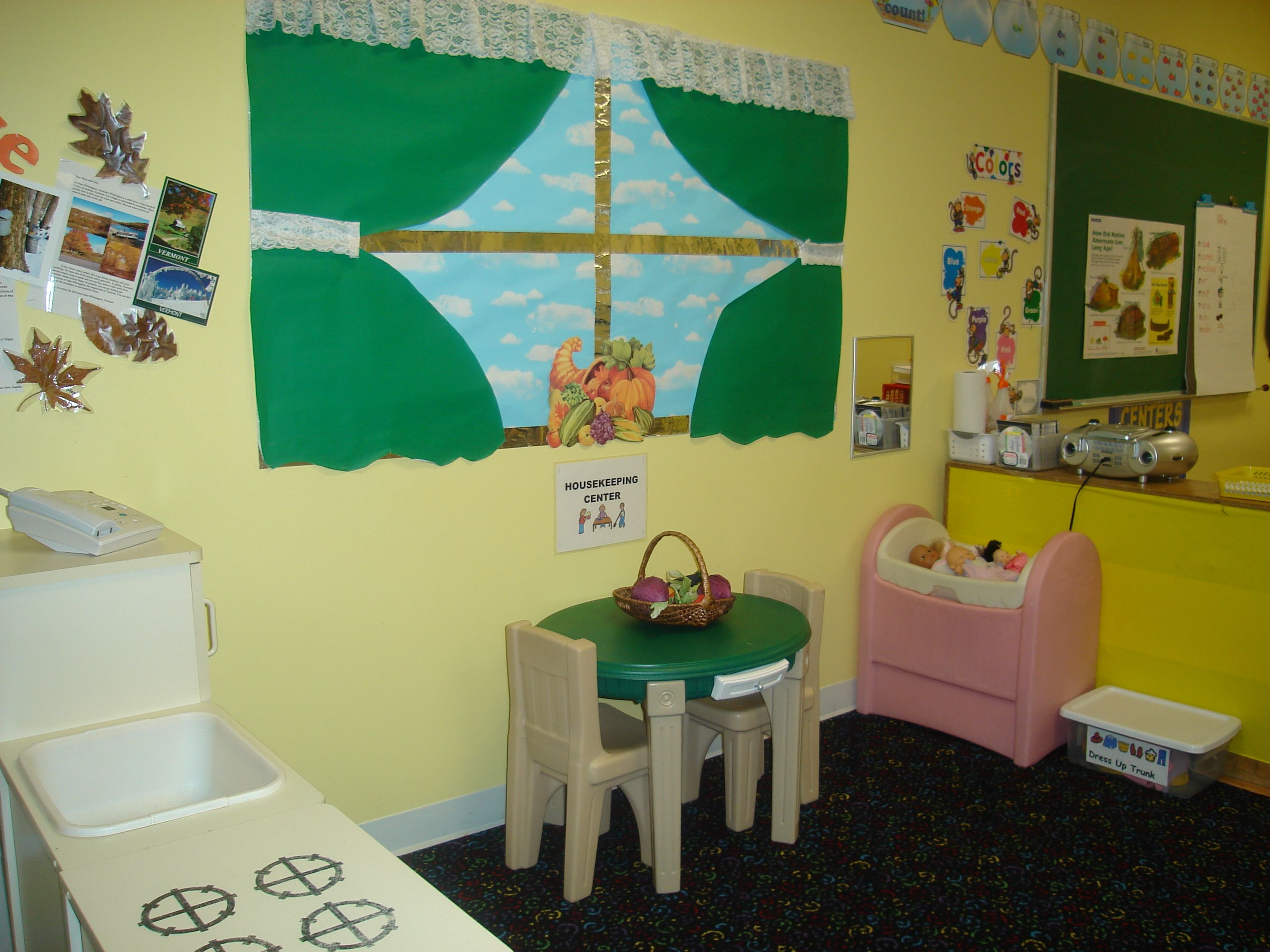 Toddler Classroom Play Center