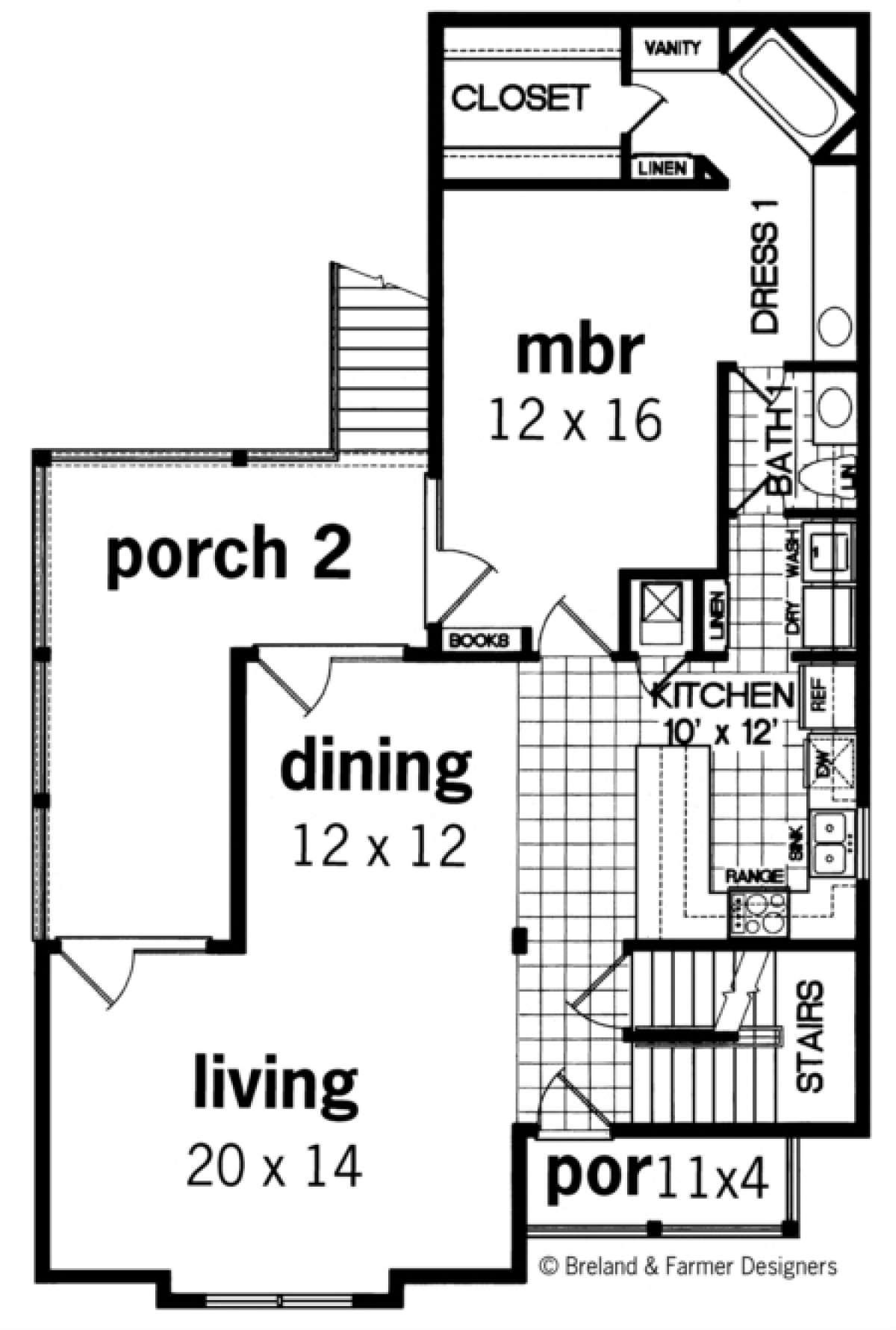 House Plan 048 00123 Vacation Plan 2 020 Square Feet 4 Bedrooms 3 Bathrooms Beach Style House Plans House Plans Coastal House Plans