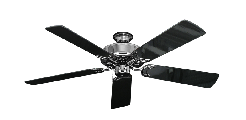 Dixie belle chrome ceiling fan with 52 black gloss blades sienna dixie belle chrome ceiling fan with 52 black gloss blades mozeypictures Gallery