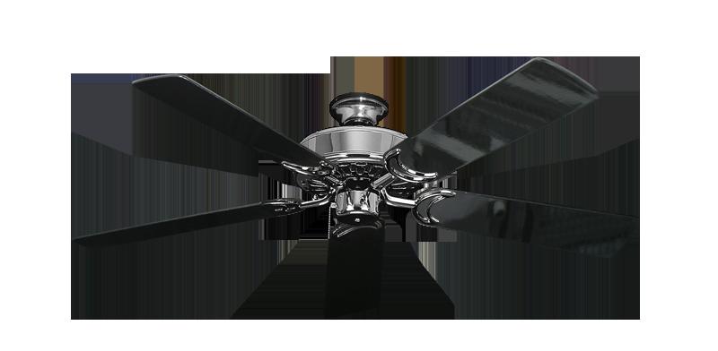 Dixie belle chrome ceiling fan with 52 black gloss blades sienna dixie belle chrome ceiling fan with 52 black gloss blades mozeypictures Gallery