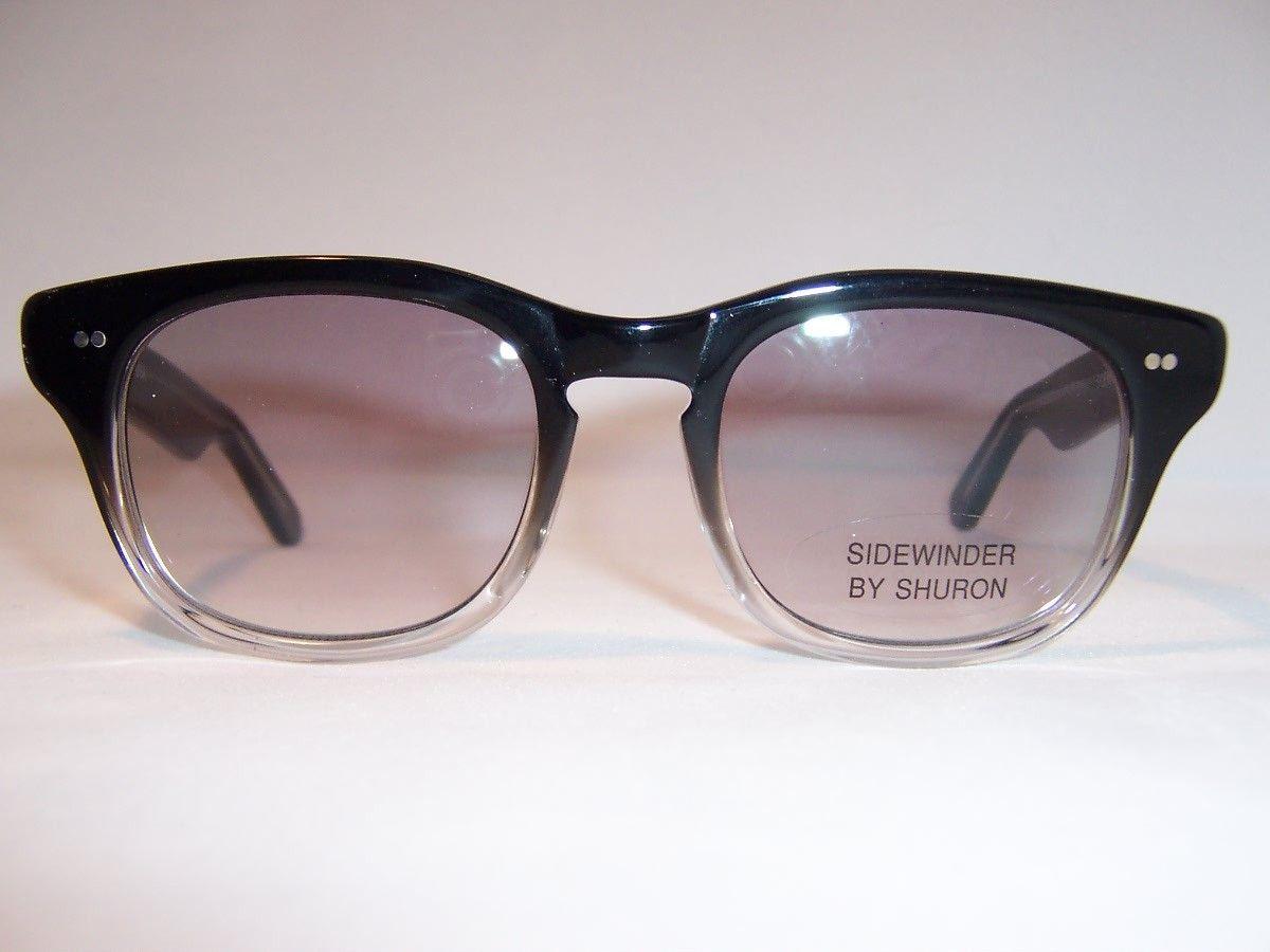 2935441983 Two tone Shuron Sidewinder Rockabilly Spectacles - Vintage Glasses - Dead  Men s Spex