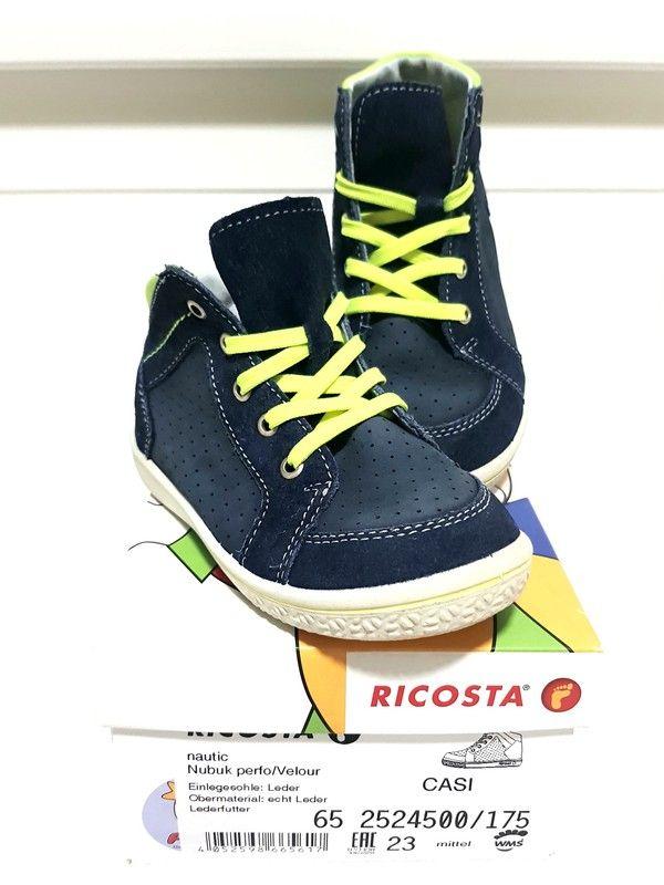 SneakerHalbhohe Schuhe, Pepino by Ricosta, Gr.23, Babyboy