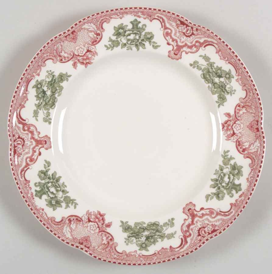 Johnson Brothers OLD BRITAIN CASTLES PINK CHRISTMAS Accent Dinner ...