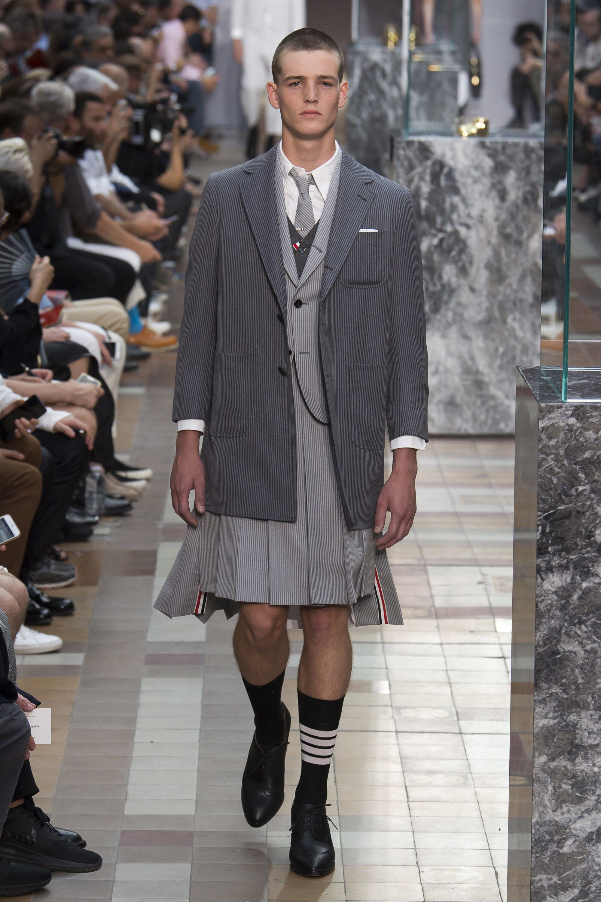 e2017318fb96 Thom Browne Spring 2018 Menswear Fashion Show Collection