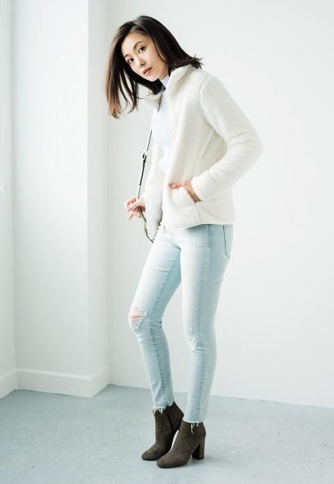 Women Fluffy Yarn Fleece Full Zip Jacket In 2018 Uniqlo Fall