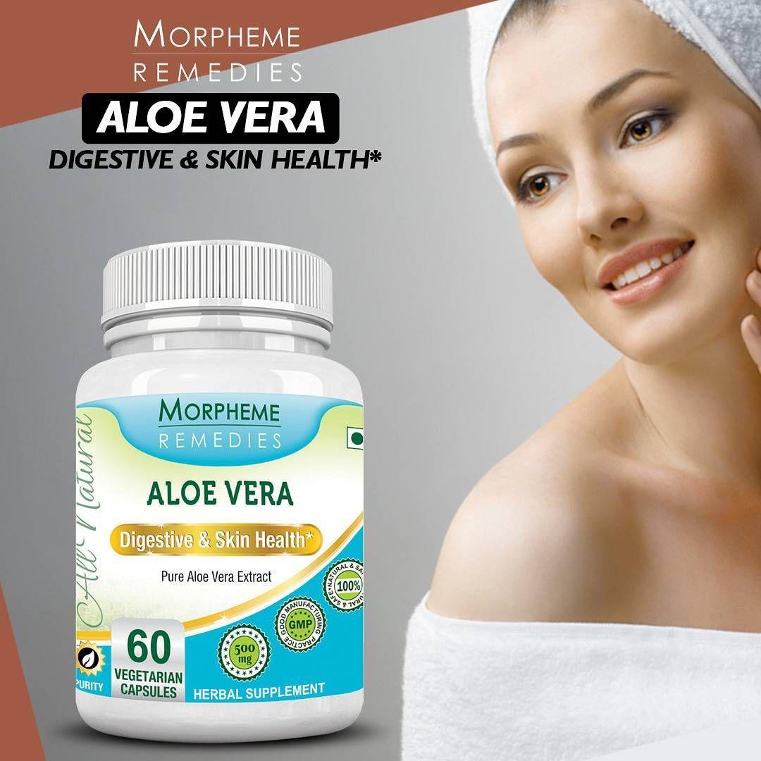 Morpheme aloe vera skin care home remedies skin health