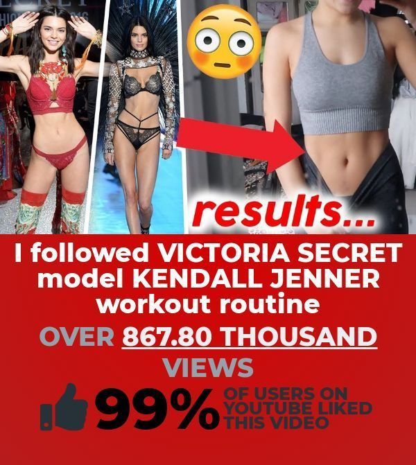 Kendall Jenner Workout Routine #workout #workoutroutine