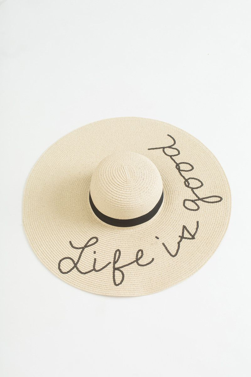 cc1473ed739 Jenn Life is Good Floppy Hat | Hats For Women Outfits | Dress hats ...
