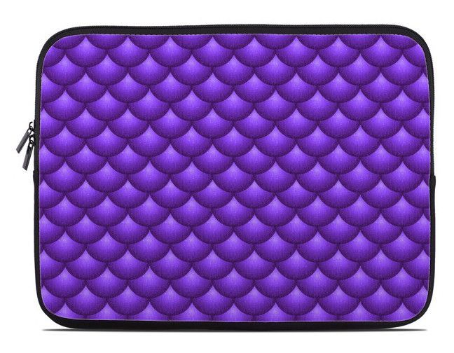 Fish Scales Print Laptop Cover in assorted colors